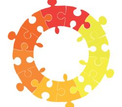 Circle Puzzle Illustration