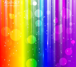 Vector Abstract Rainbow Background