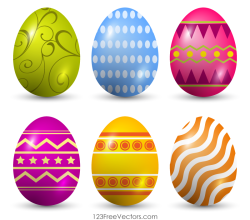 Free Clip Art Easter Eggs
