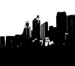 Sydney Cityscape in Illustrator