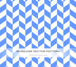 Blue Chevron Pattern Vector