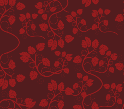 Seamless Floral Wallpaper Vector Free