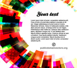 Colorful Background Template Vector