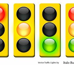 Free Vector Traffic Light