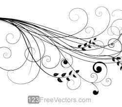 Vector Floral Design 6