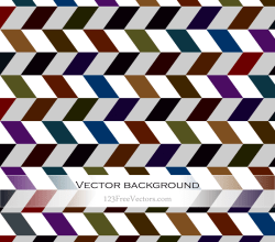 Color Chevron Background Vector