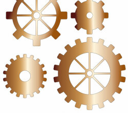 Gears Illustrator