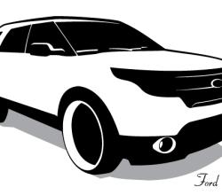 Vector Ford Explorer
