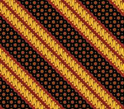 Free Vector Seamless Batik Pattern