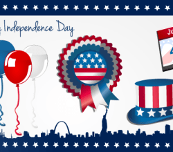 4th July Vector Graphics
