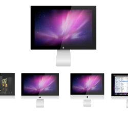 Vector Apple Cinema Display