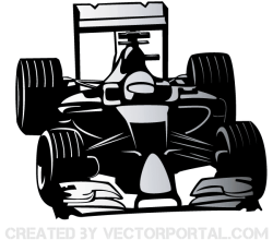 Vector Formula One Car