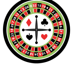 Casino Roulette Wheel Illustration
