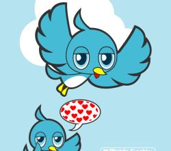 Blue Bird Free Vector