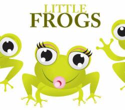 Little Frogs Vector