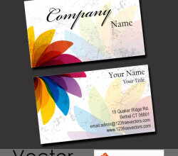 Free Business Card Vector