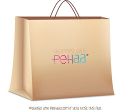 Shopping Paper Bag Vector Free