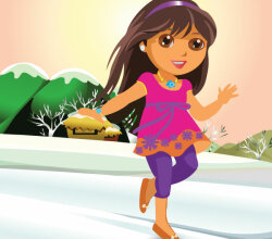 Dora Vector Illustration Free