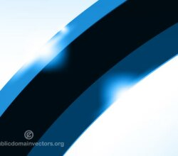 Vector Abstract Blue Wallpaper Design