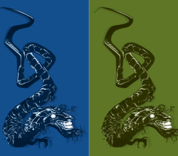 Japanese Dragon Vector Art