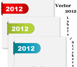 Vector 2012 Labels – Stickers