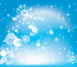 Winter Design Vector Background