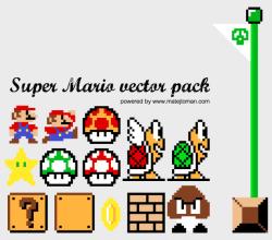 Super Mario Illustrator Pack