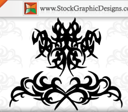 Tribal Tattoo Free Vector Designs