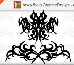 Tribal Tattoo Free Vector Designs