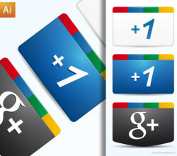 Vector Google Plus Icon