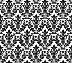 Damask Floral Pattern Vector