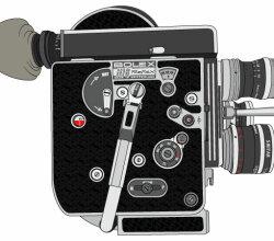 Vector Bolex H16 Reflex Camera
