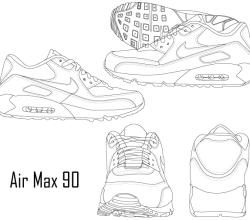 Nike Air Max 90 Sneaker Boot
