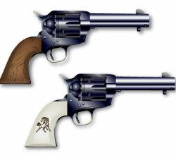 Colt Six Shooter Vectors Free