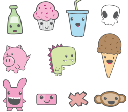 Cute Vector Pack