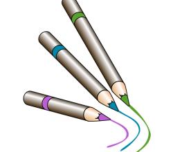 Vector Crayons