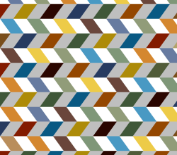Colorful Zigzag Chevron Vector Background