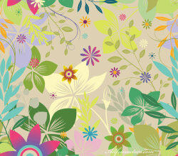 Free Colorful Seamless Background Vector