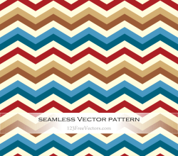 Retro Zigzag Pattern Background Vector
