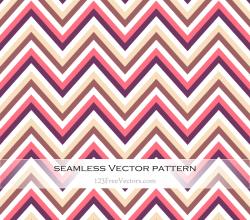 Zigzag Chevron Seamless Pattern Illustration