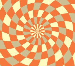 Optical Illusion Background Illustrator