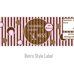 Vector Retro Style Label