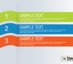 Number List Infographic Banner Vector