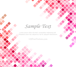 Pink Tile Background Free Vector