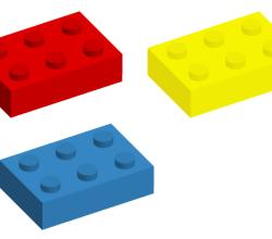 Lego Brick Vector Graphics
