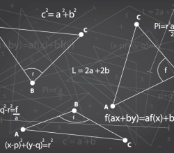 Free Mathematics Background Vector