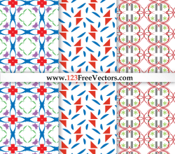 Seamless Decorative Pattern Vector Graphics
