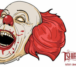 Evil Clown Vector
