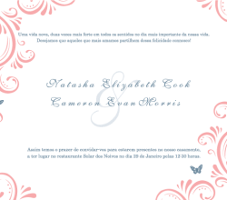 Free Wedding Invitation Template
