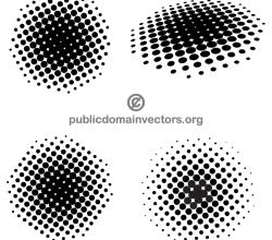 Halftone Dots Illustrator